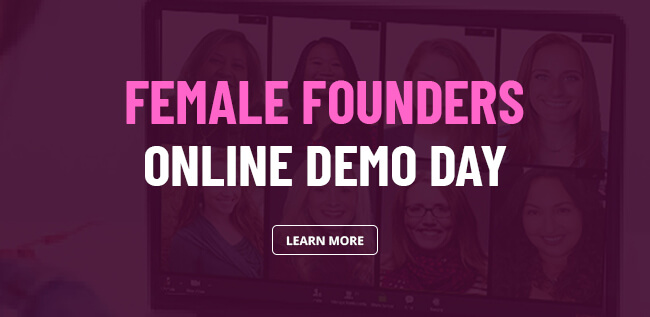 Female founders online demo day