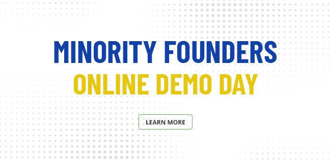 Minority founders online demo days