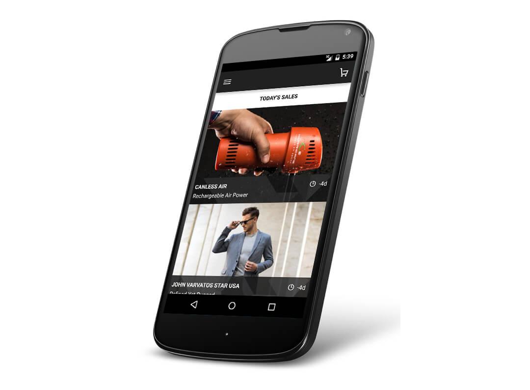 Luxury Retail App - KiwiTech