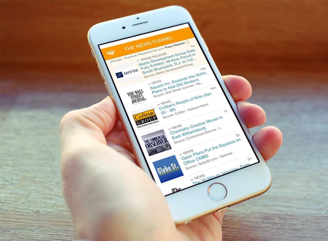 Real Estate News App - KiwiTech