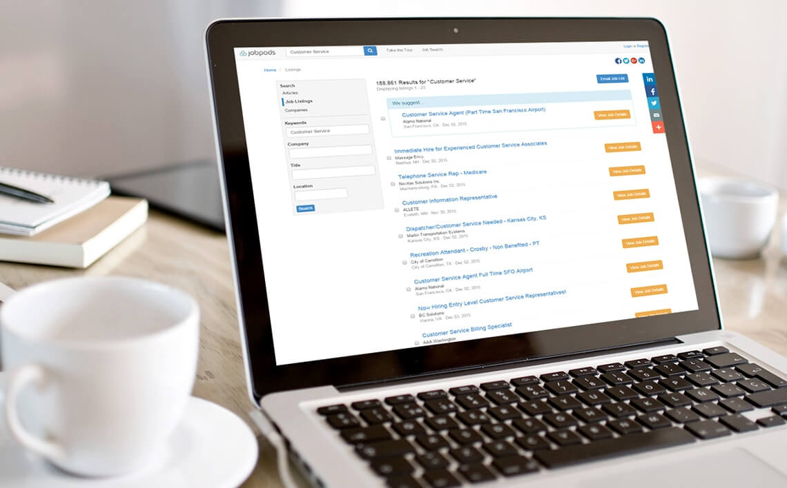 Job Search Platform - KiwiTech